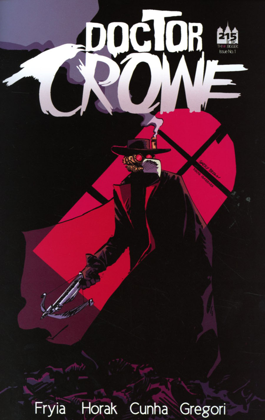 Doctor Crowe #1 Cover A Regular Garry Brown Cover