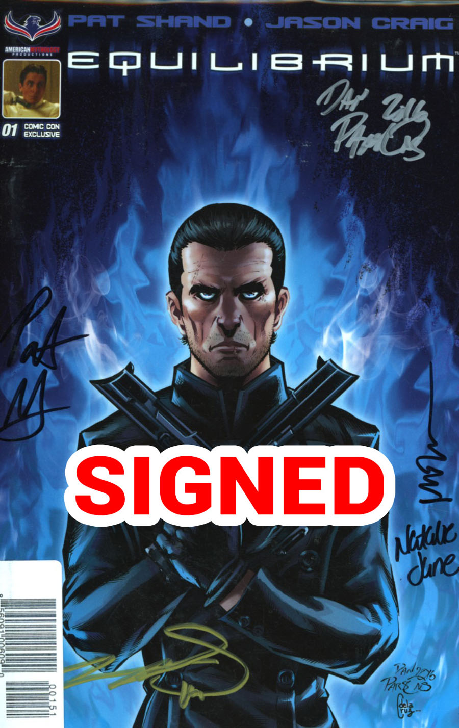 Equilibrium #1 Cover D Baltimore Comic Con Exclusive Mega Signed Variant Cover