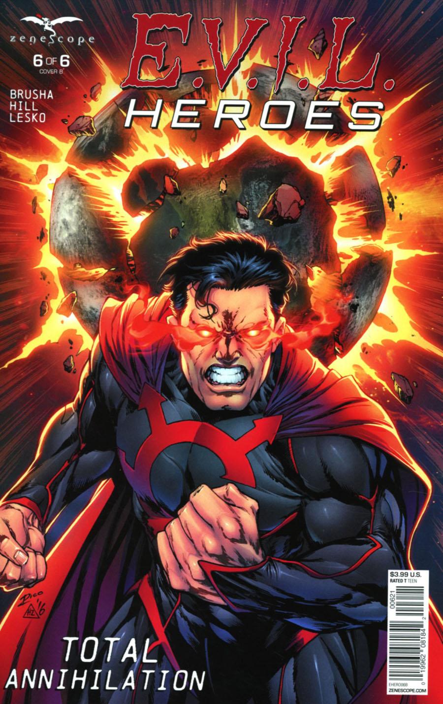 Evil Heroes #6 Cover B Ian Richardson