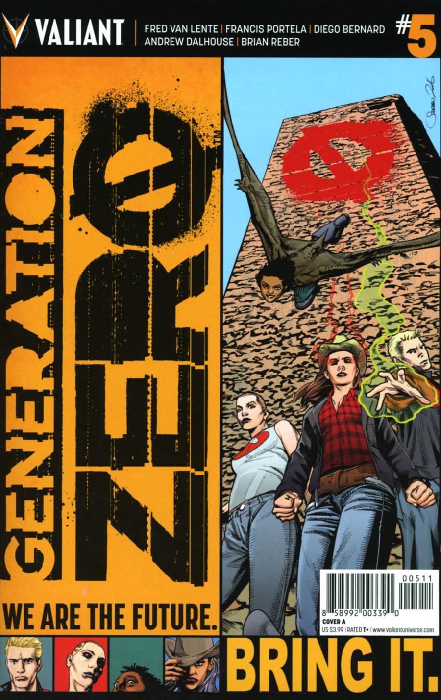Generation Zero #5 Cover A Regular Stephen Mooney Cover
