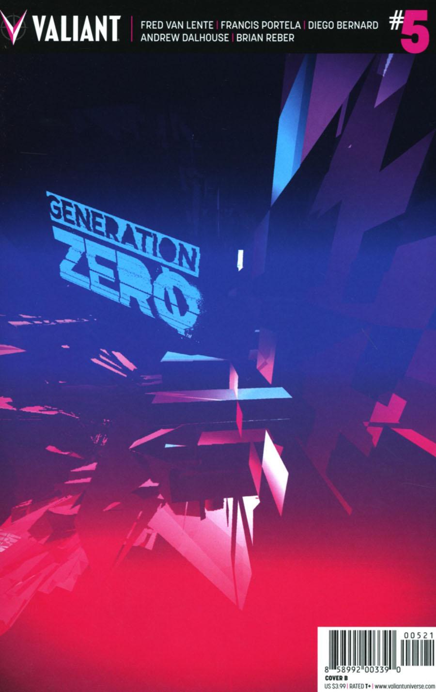 Generation Zero #5 Cover B Variant Tom Muller Cover