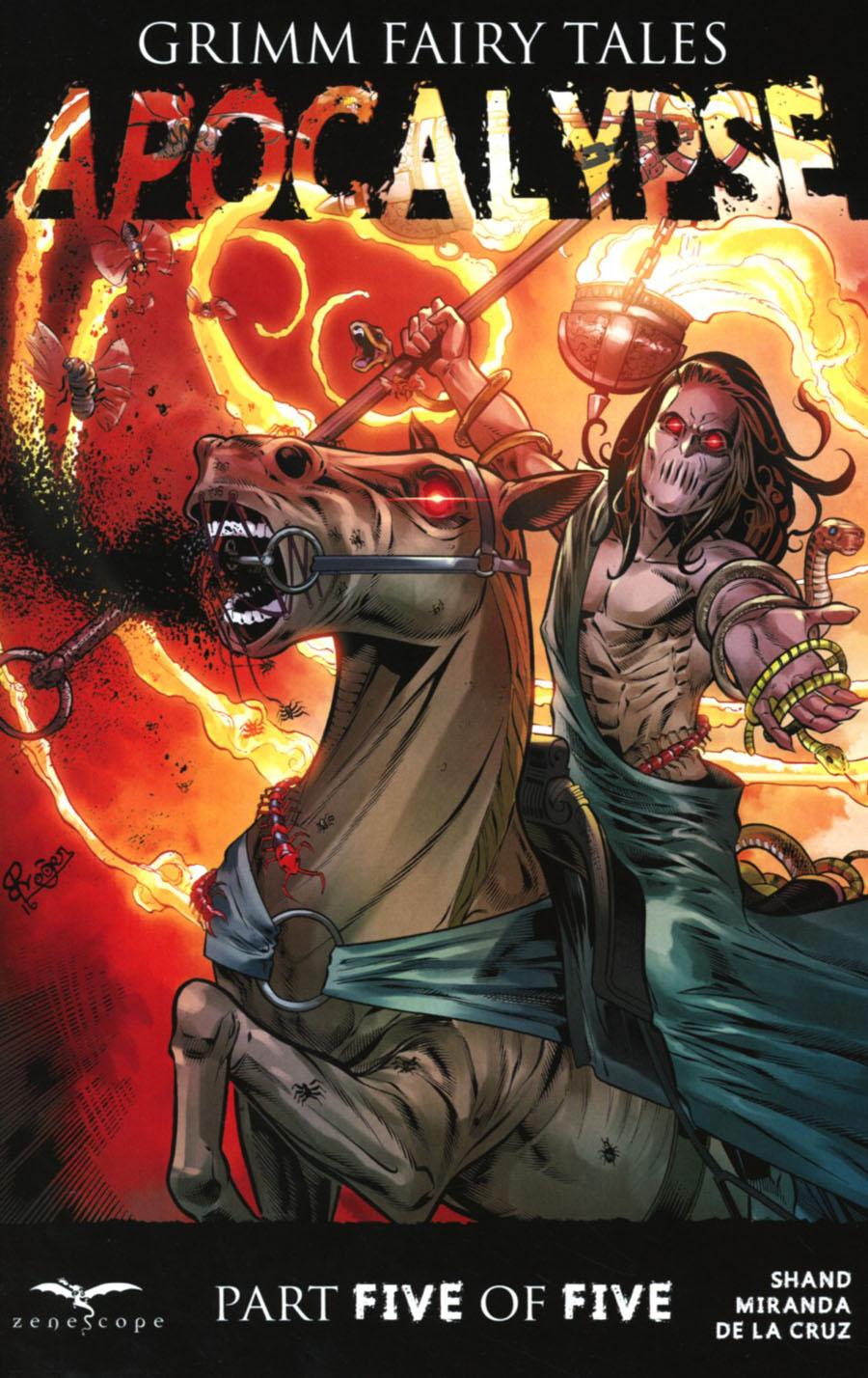 Grimm Fairy Tales Presents Apocalypse #5 Cover D Roger Bonet