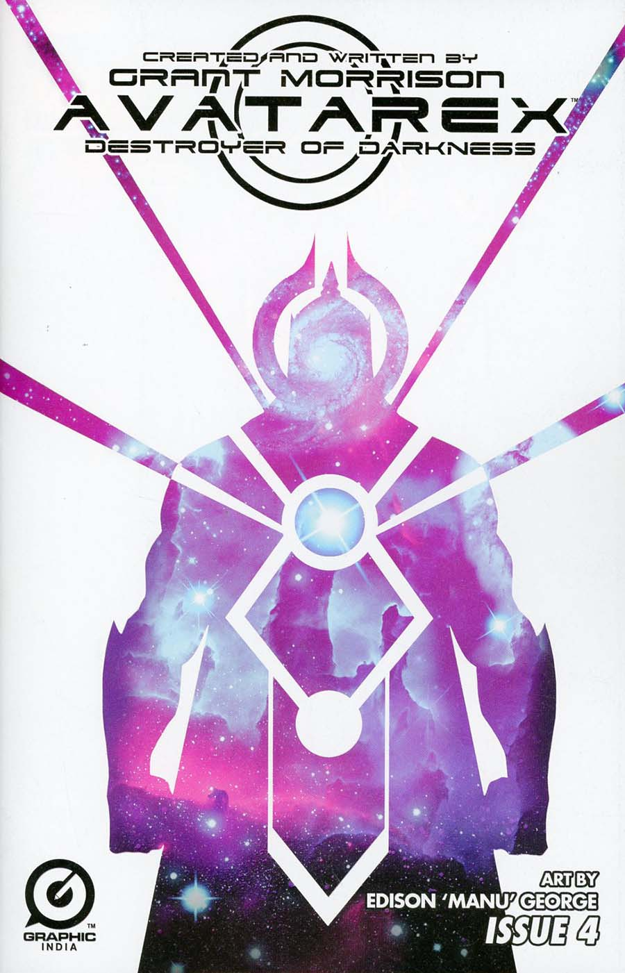 Grant Morrisons Avatarex Destroyer Of Darkness #4 Cover A Regular Jeevan Kang Cover
