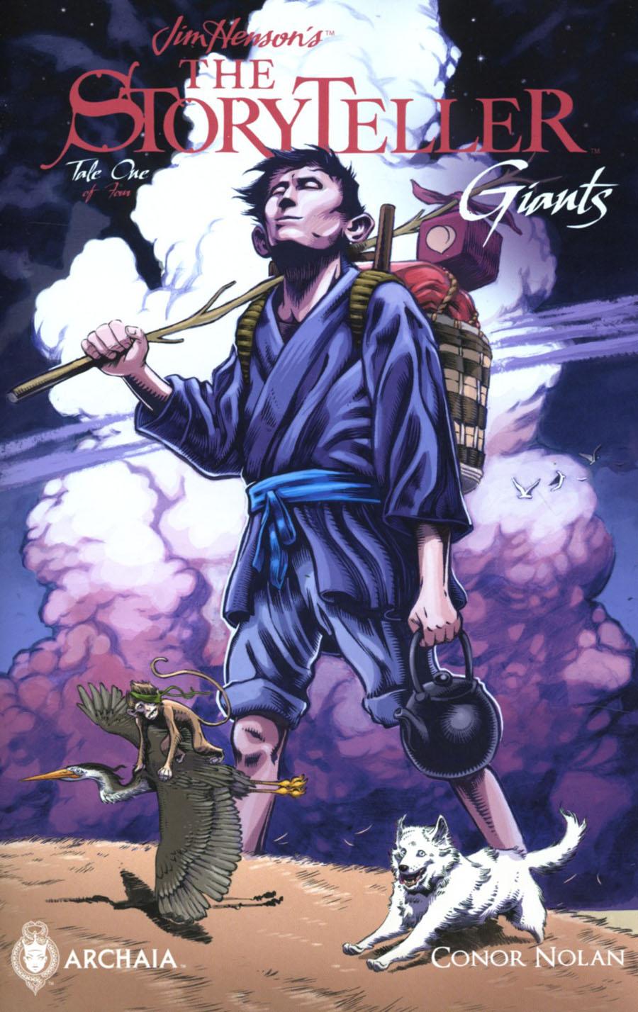 Jim Hensons Storyteller Giants #1 Cover A Regular Conor Nolan Cover