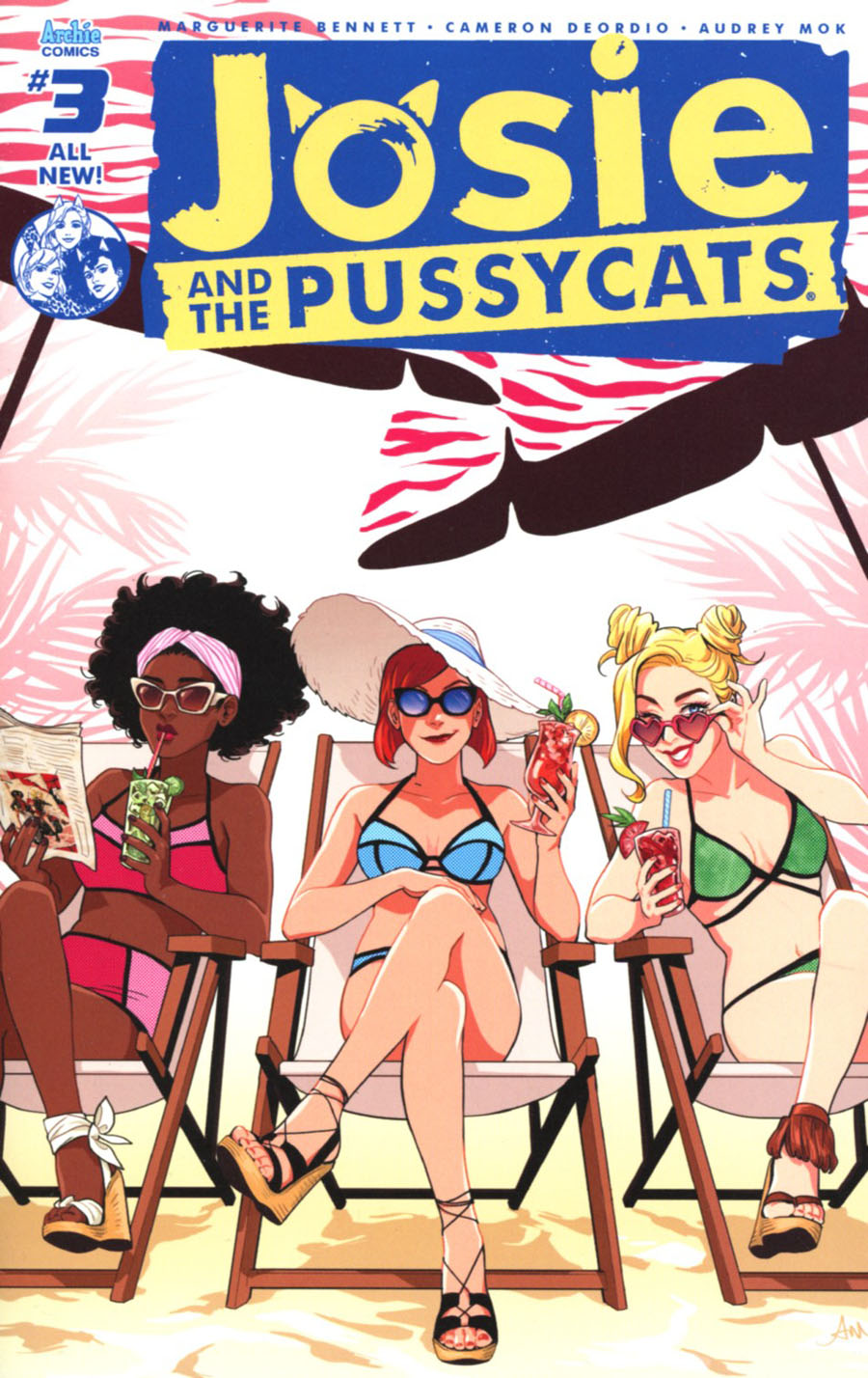 Josie And The Pussycats Vol 2 #3 Cover A Regular Audrey Mok Cover