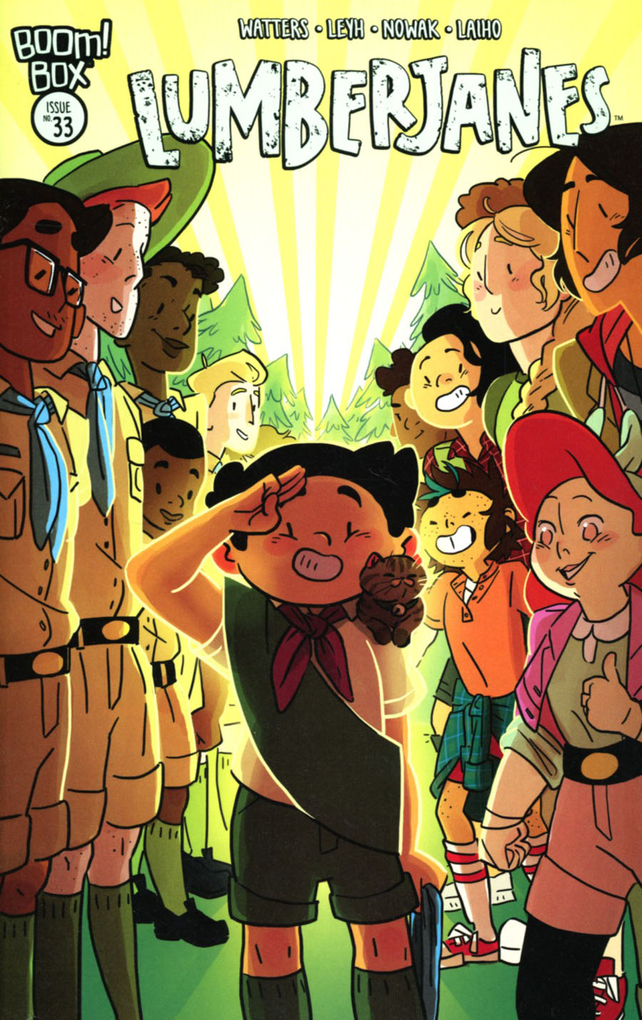 Lumberjanes #33 Cover A Regular Kat Leyh Cover