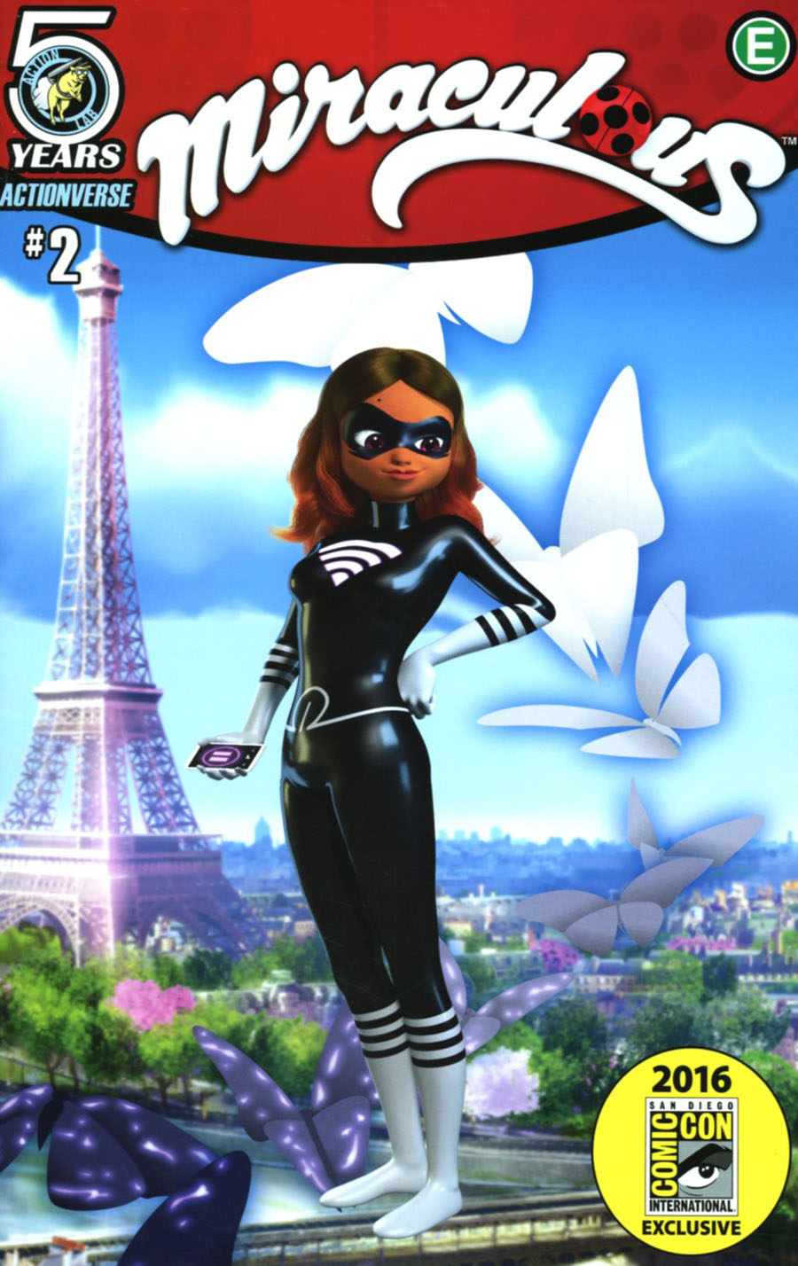 Miraculous #2 Cover C SDCC Exclusive Variant Cover