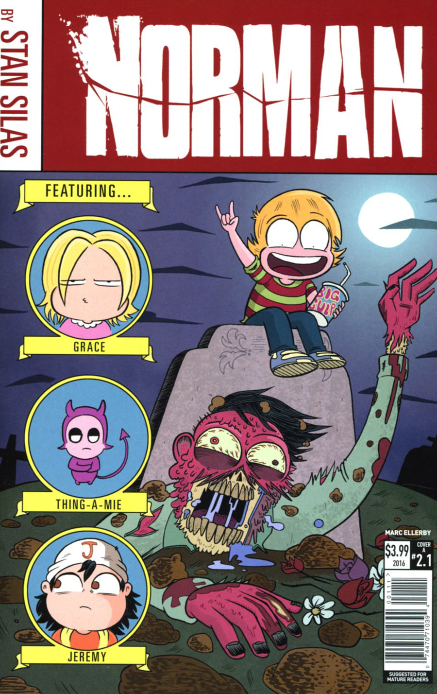 Norman The First Slash #1 Cover A Regular Marc Ellerby Cover