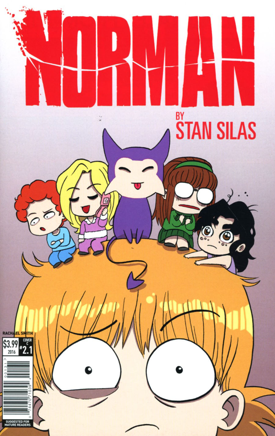 Norman The First Slash #1 Cover C Variant Rachael Smith Cover