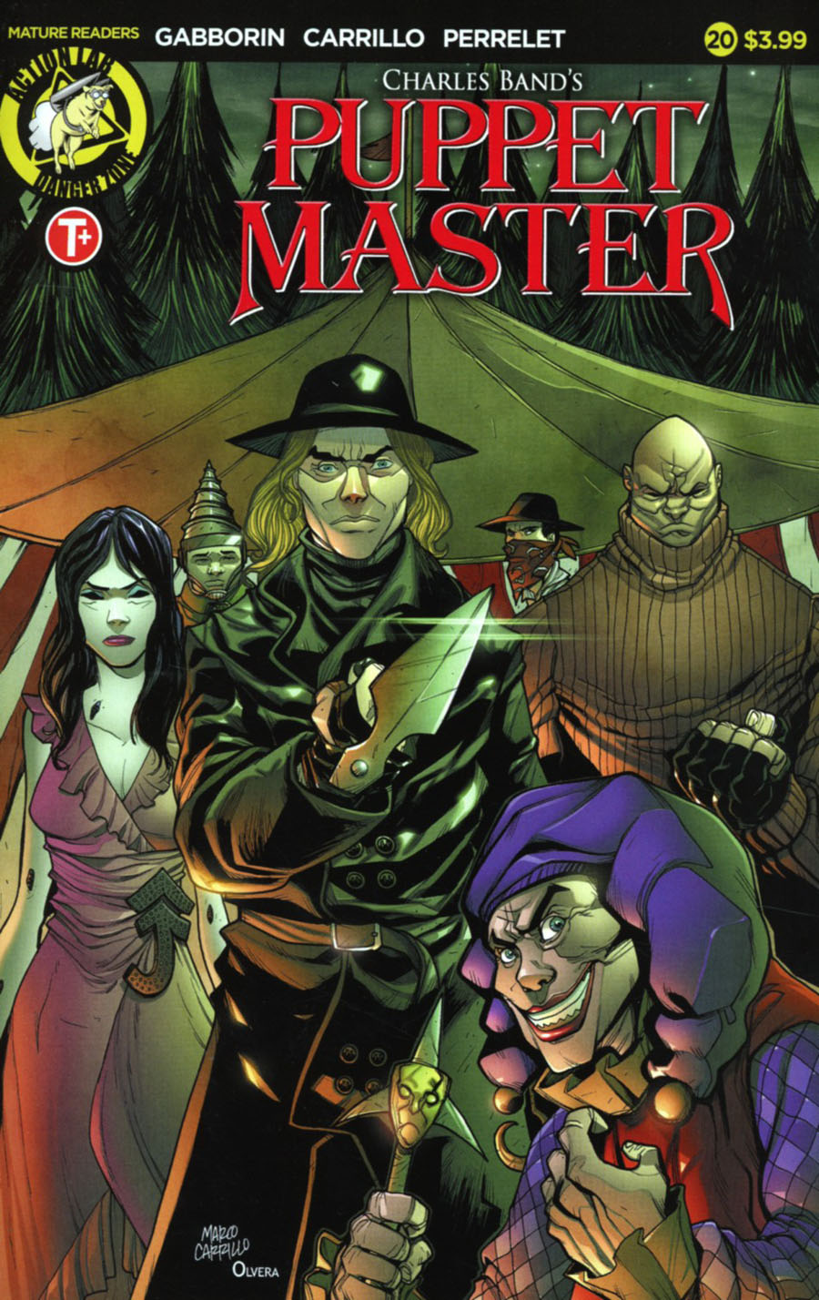 Puppet Master #20 Cover A Regular Marco Carrillo Cover