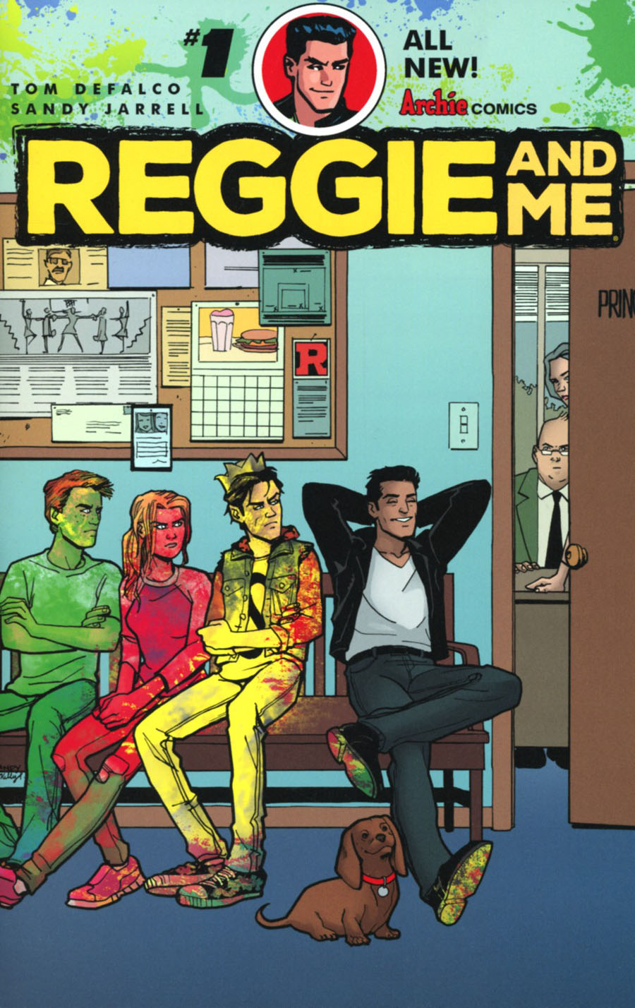Reggie And Me Vol 2 #1 Cover A Regular Sandy Jarrell Cover