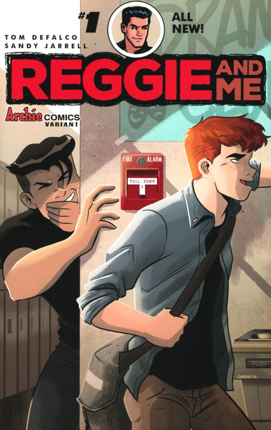 Reggie And Me Vol 2 #1 Cover C Variant Derek Charm Cover