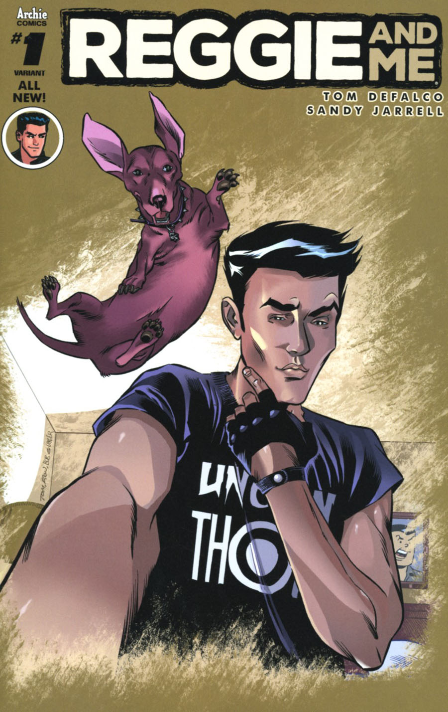 Reggie And Me Vol 2 #1 Cover D Variant Ron Frenz Cover