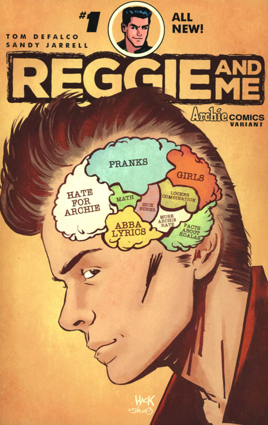 Reggie And Me Vol 2 #1 Cover E Variant Robert Hack Cover