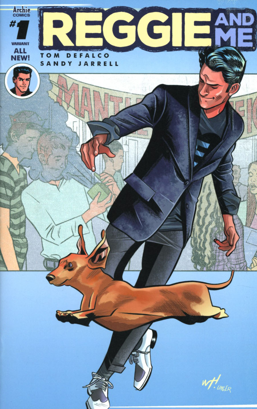 Reggie And Me Vol 2 #1 Cover H Variant Wilfredo Torres Cover