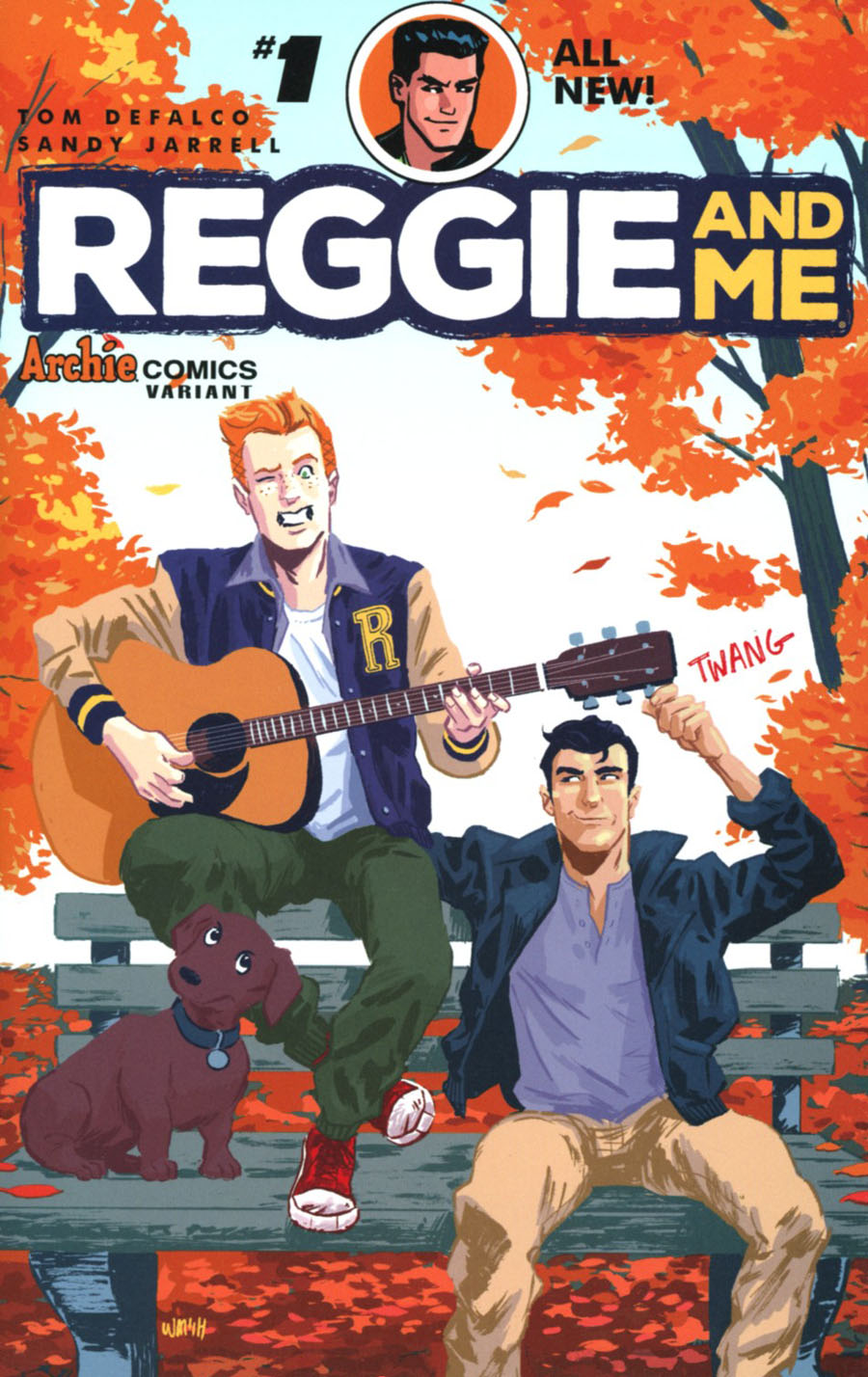 Reggie And Me Vol 2 #1 Cover I Variant Michael Walsh Cover