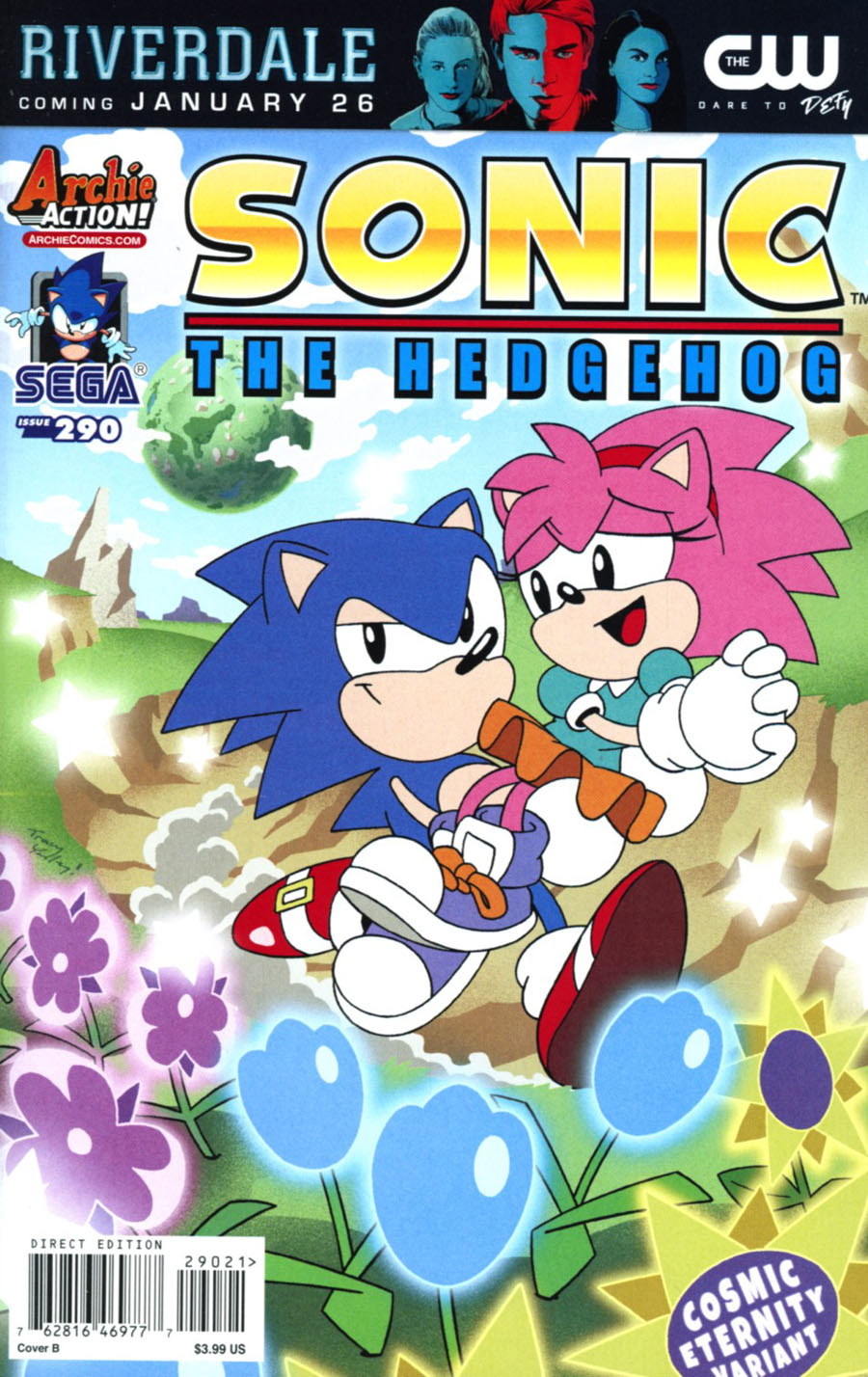 Sonic The Hedgehog Vol 2 290 Cover B Variant Tracy Yardley Cover Midtown Comics