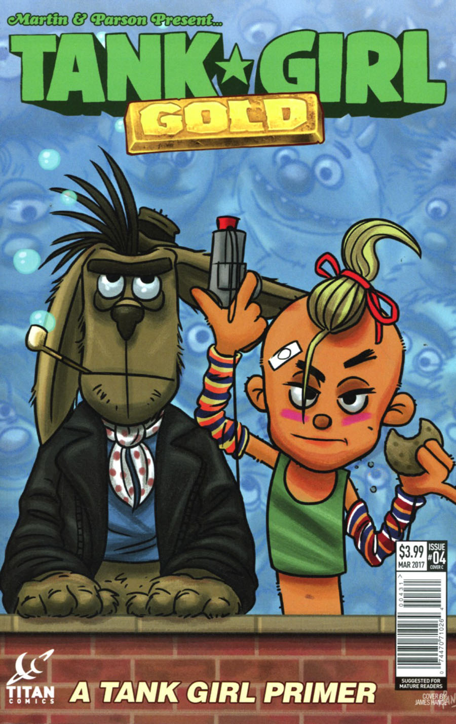 Tank Girl Gold #4 Cover C Variant James Hance Cover