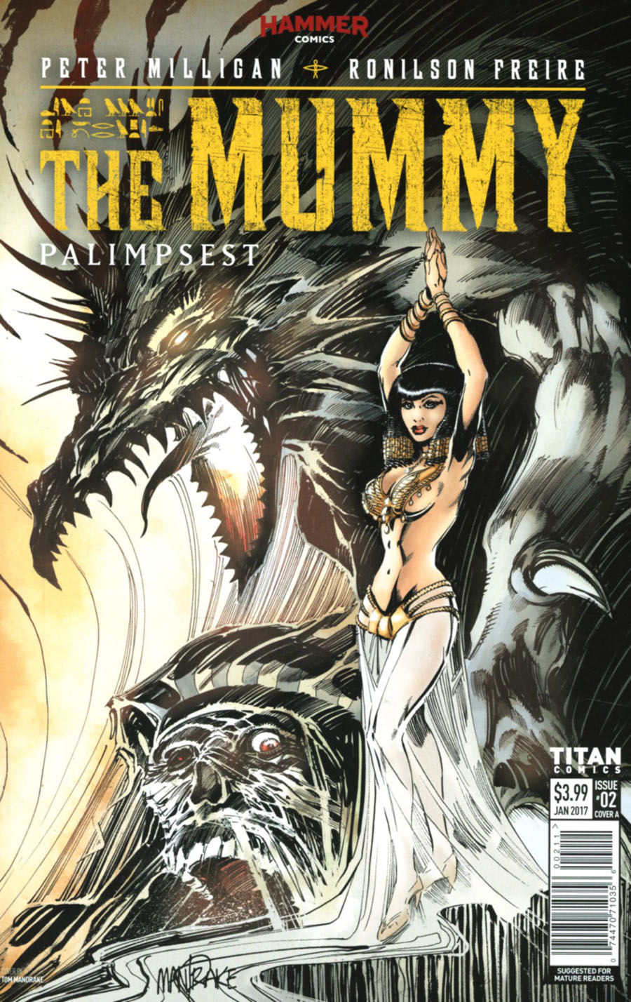 Mummy #2 Cover A Regular Tom Mandrake Cover