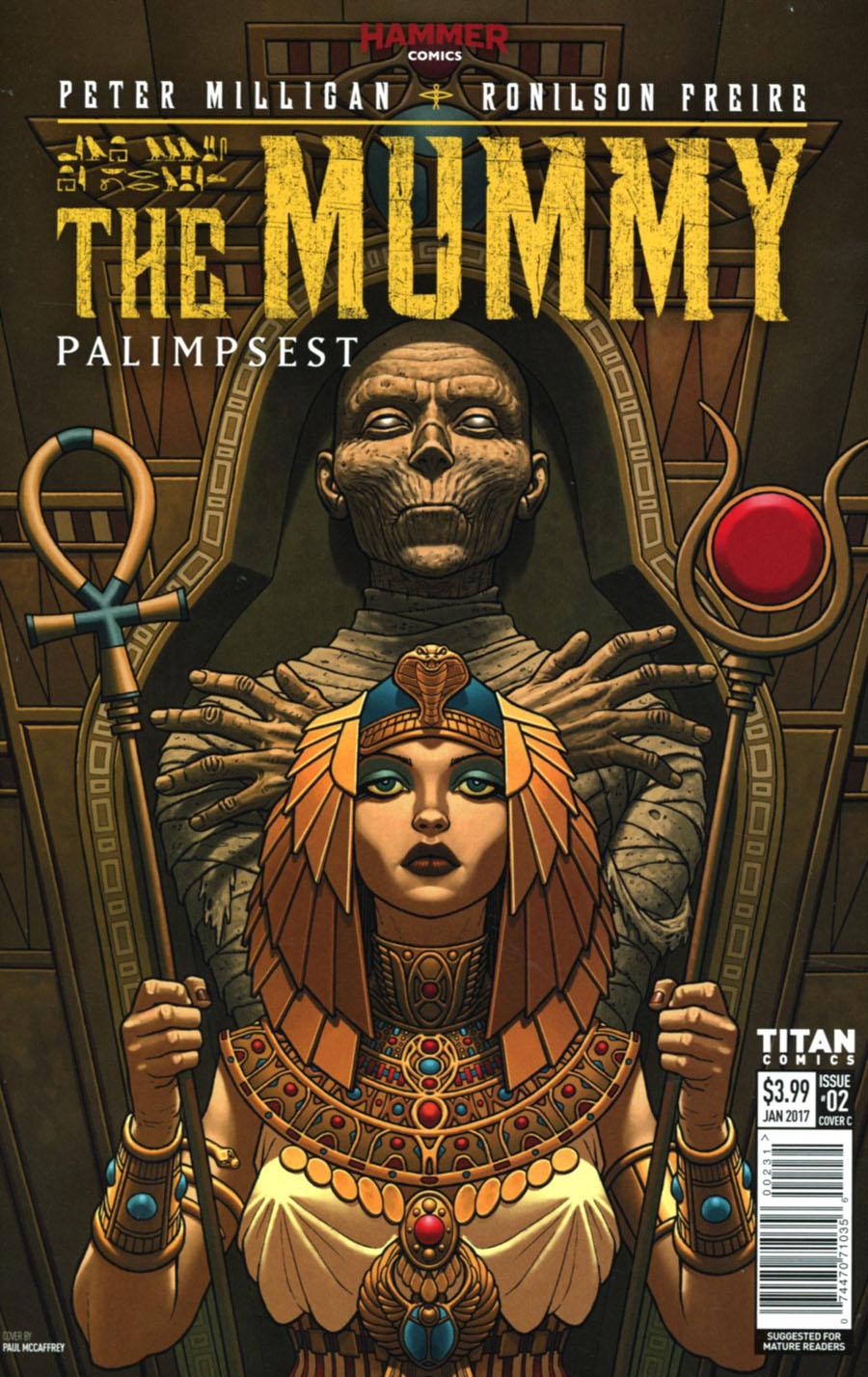 Mummy #2 Cover C Variant Paul McCaffrey Cover