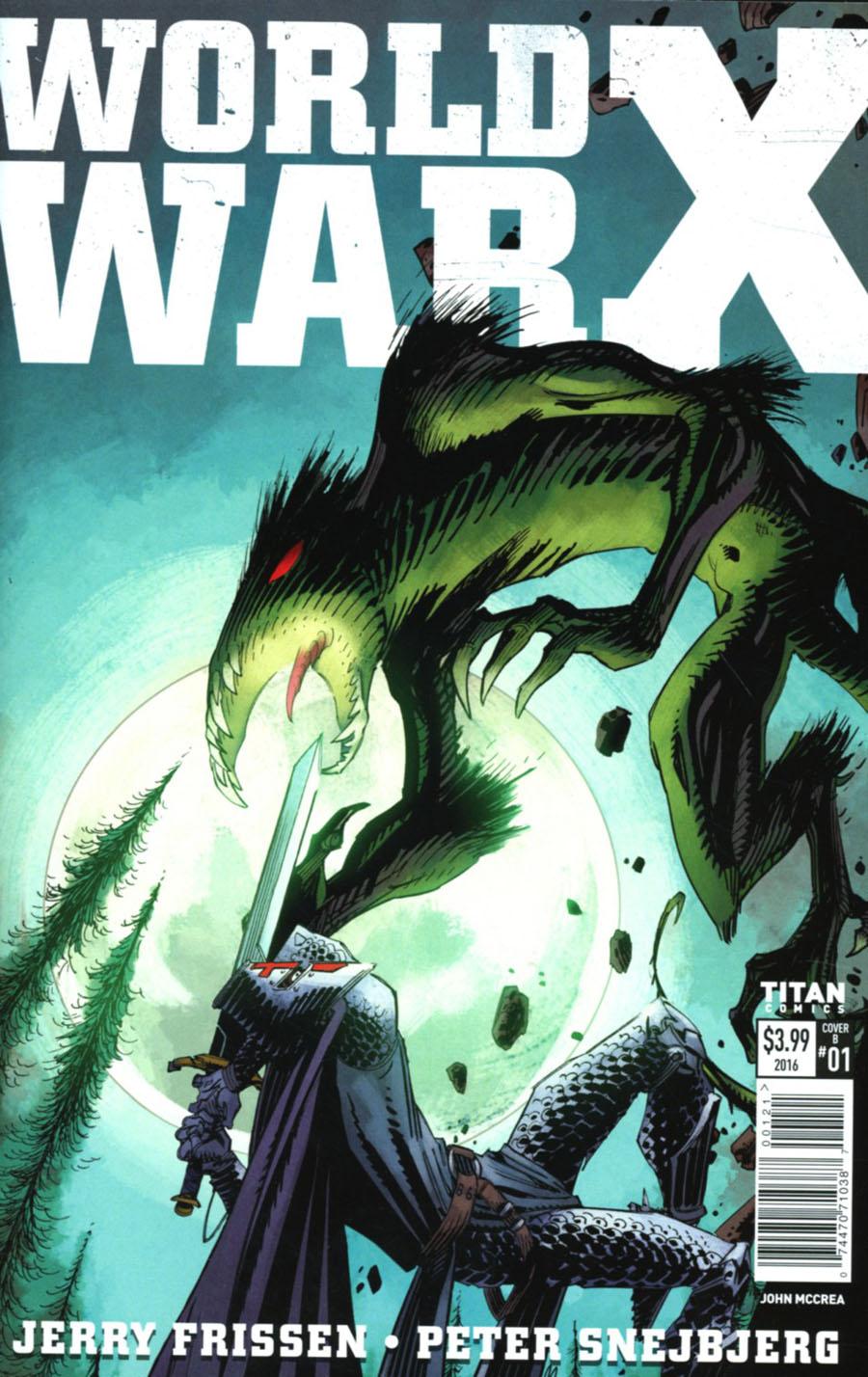 World War X #1 Cover B Variant John McCrea Cover