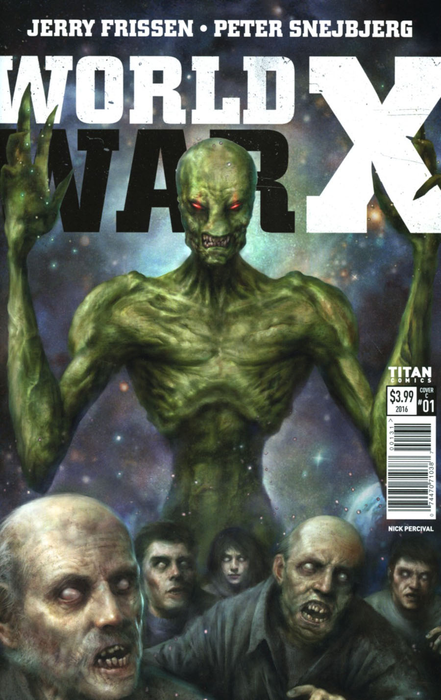 World War X #1 Cover C Variant Nick Percival Cover