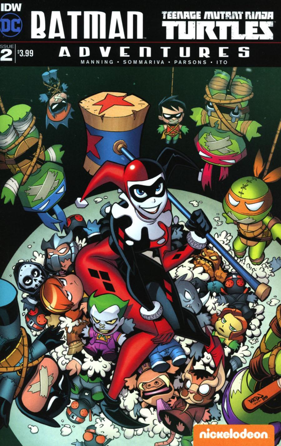 Batman Teenage Mutant Ninja Turtles Adventures #2 Cover A Regular Jon Sommariva Cover