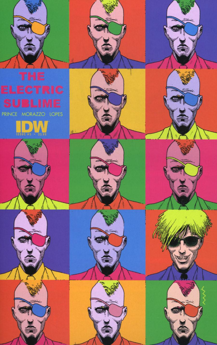 Electric Sublime #3 Cover A Regular Martin Morazzo Cover