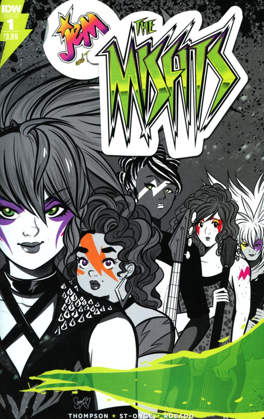 Jem And The Misfits #1 Cover A Regular M Victoria Robado Cover