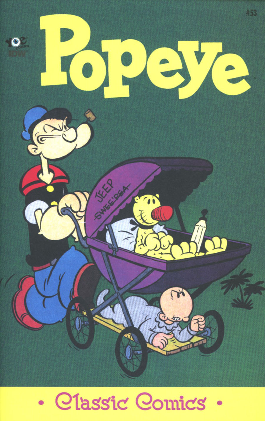Classic Popeye #53 Cover A Regular Bud Sagendorf Cover