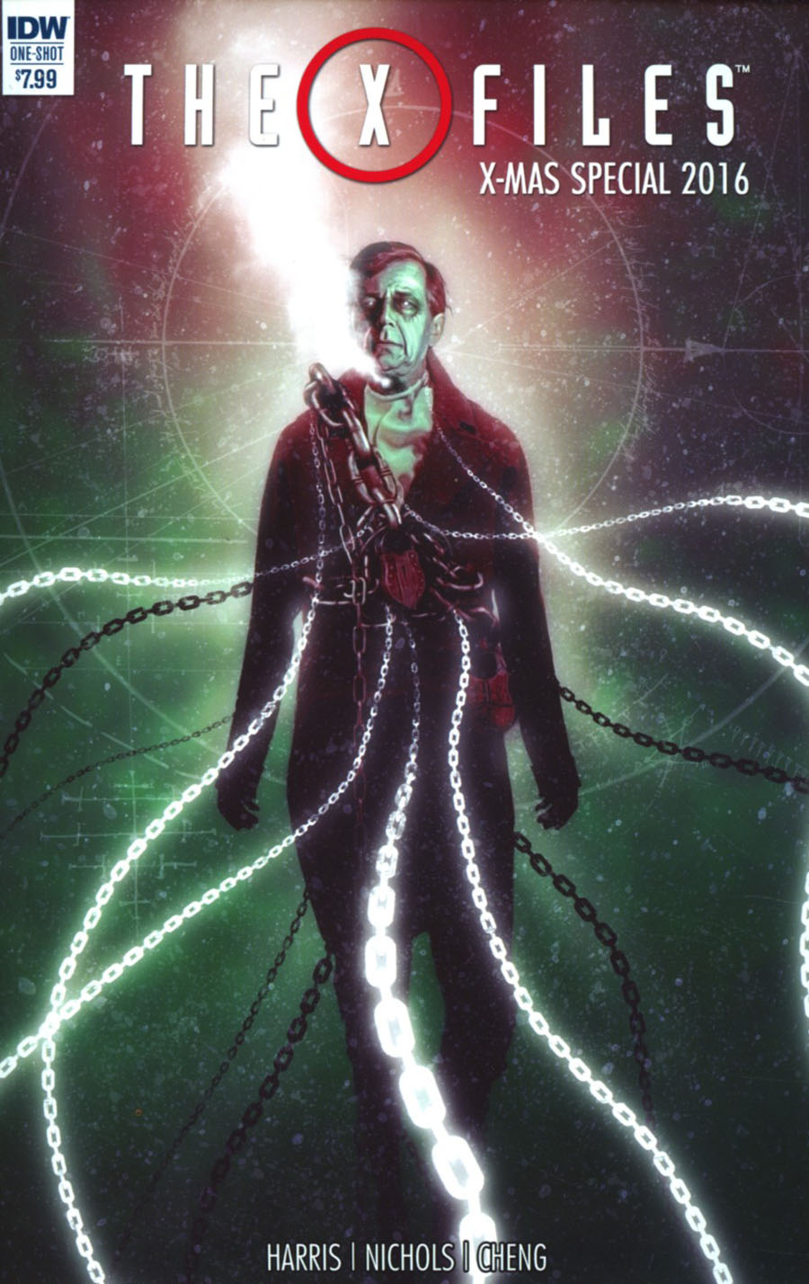 X-Files X-Mas Special 2016 Cover A Regular Menton3 Cover