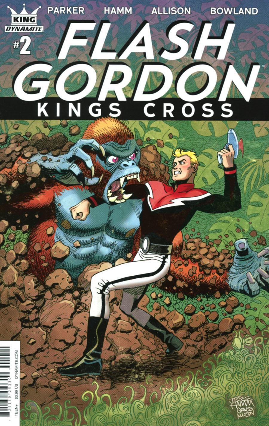 Flash Gordon Kings Cross #2 Cover A Regular Jesse Hamm & Grace Allison Cover