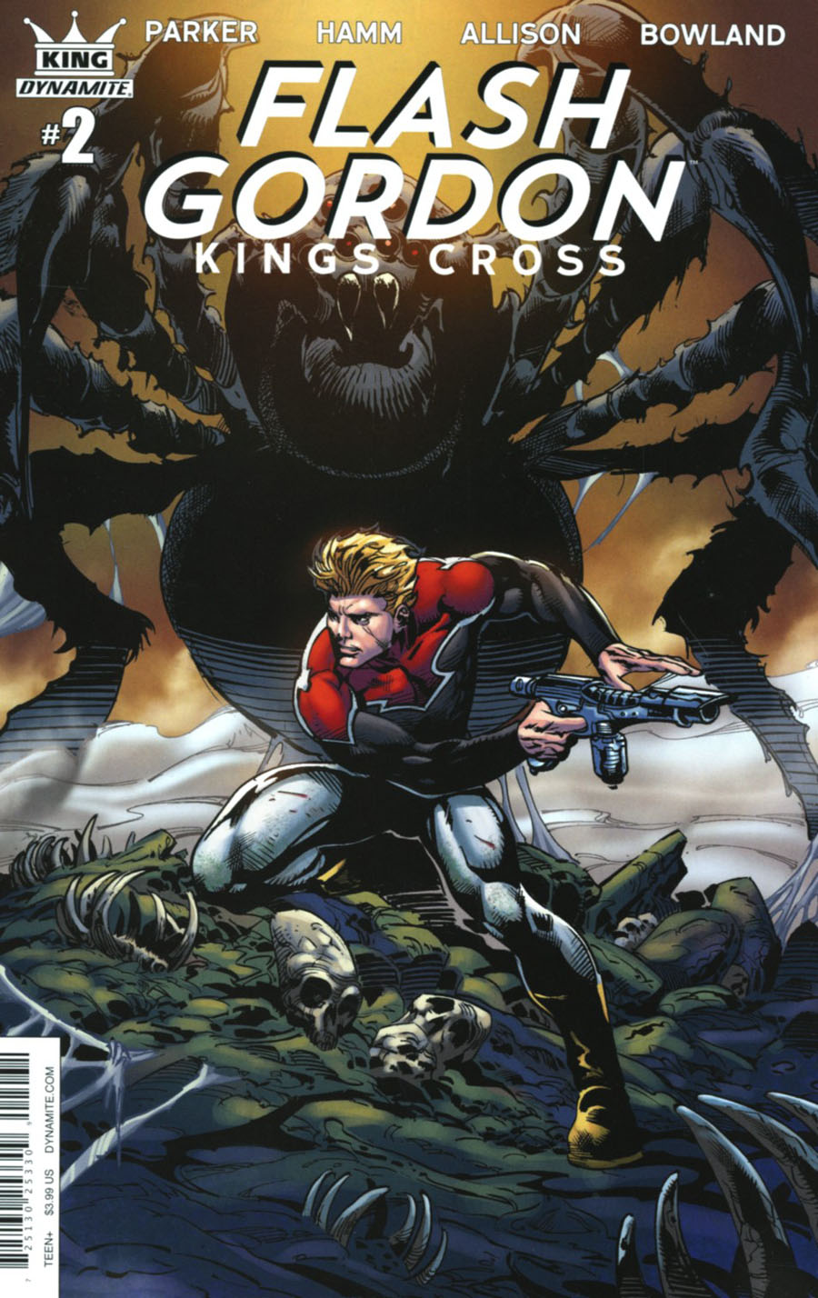Flash Gordon Kings Cross #2 Cover C Variant Roberto Castro Subscription Cover