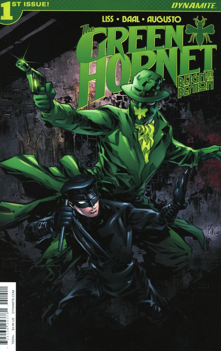 Green Hornet Reign Of The Demon #1 Cover A Regular Ken Lashley Cover