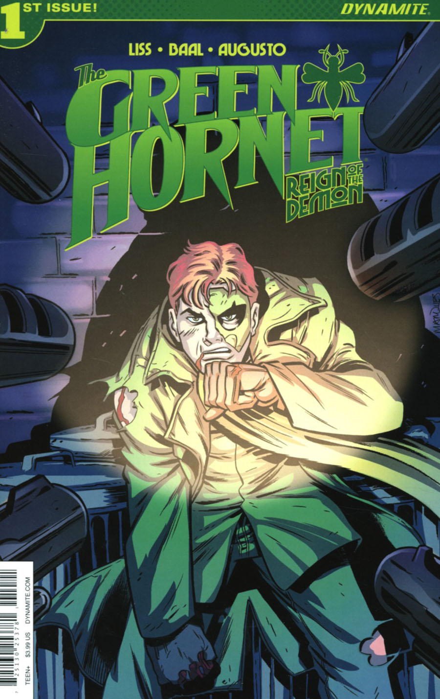 Green Hornet Reign Of The Demon #1 Cover B Variant Anthony Marques Cover