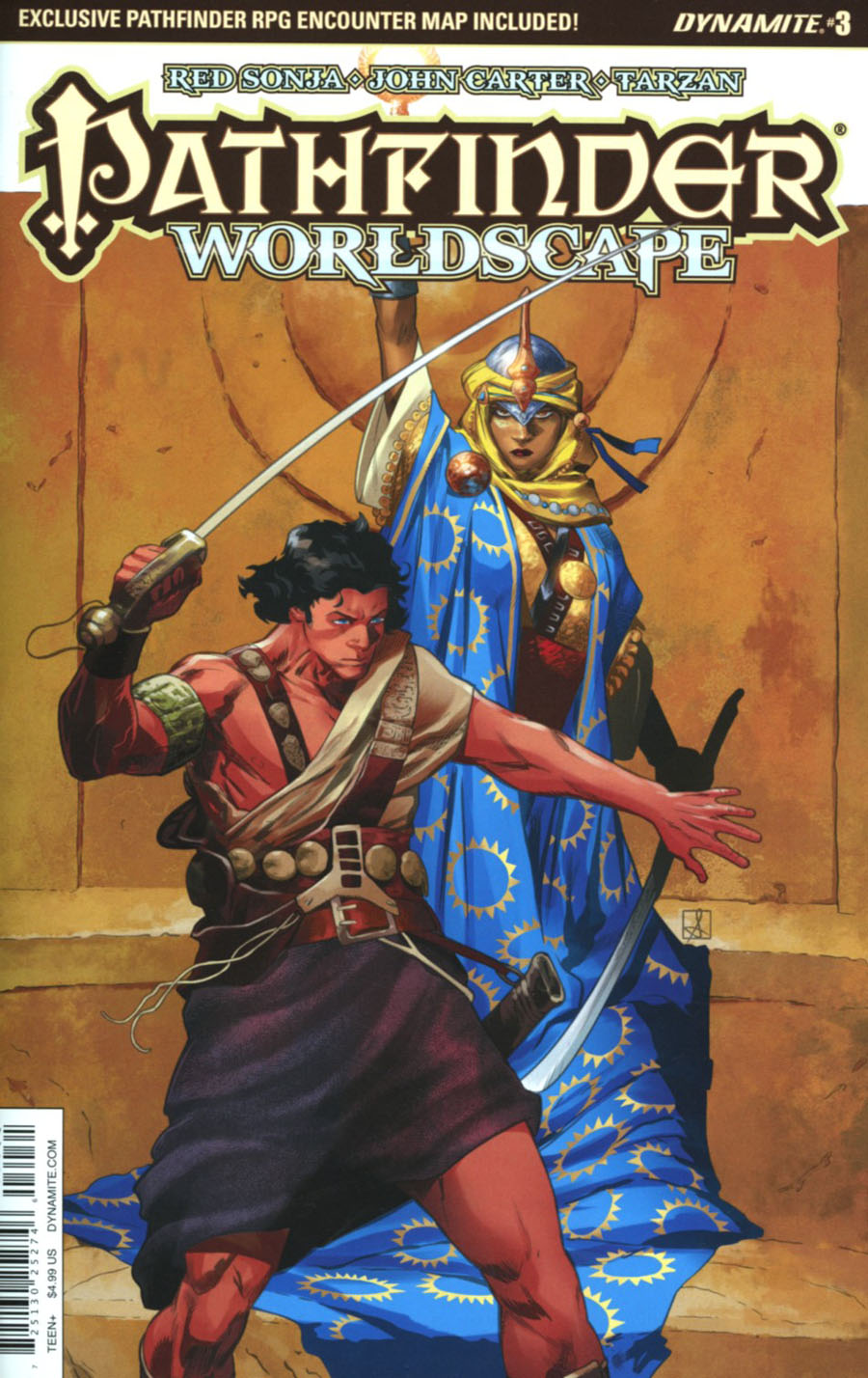 Pathfinder Worldscape #3 Cover C Variant Sean Izaakse Subscription Cover