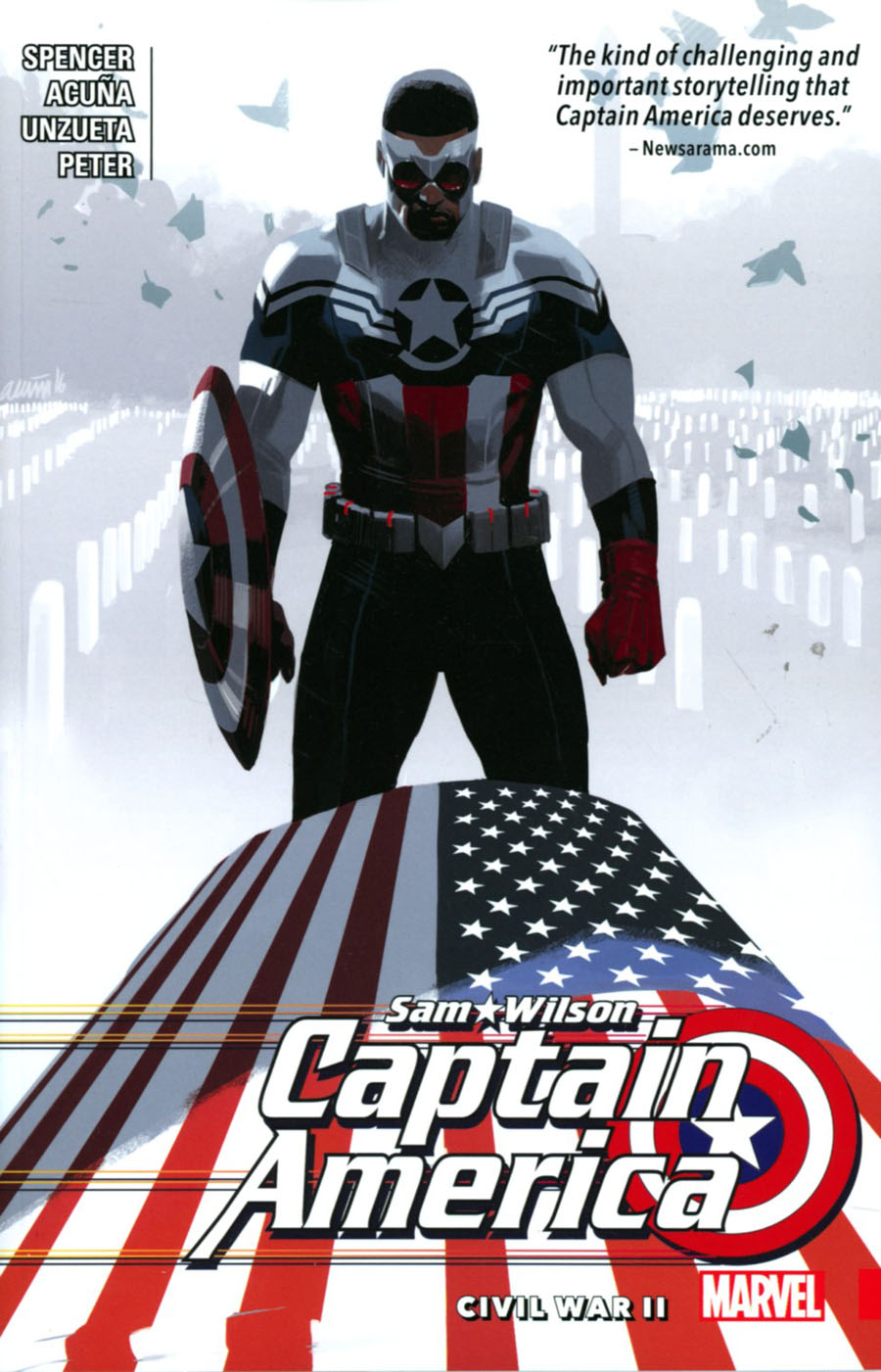 Captain America Sam Wilson Vol 3 Civil War II TP