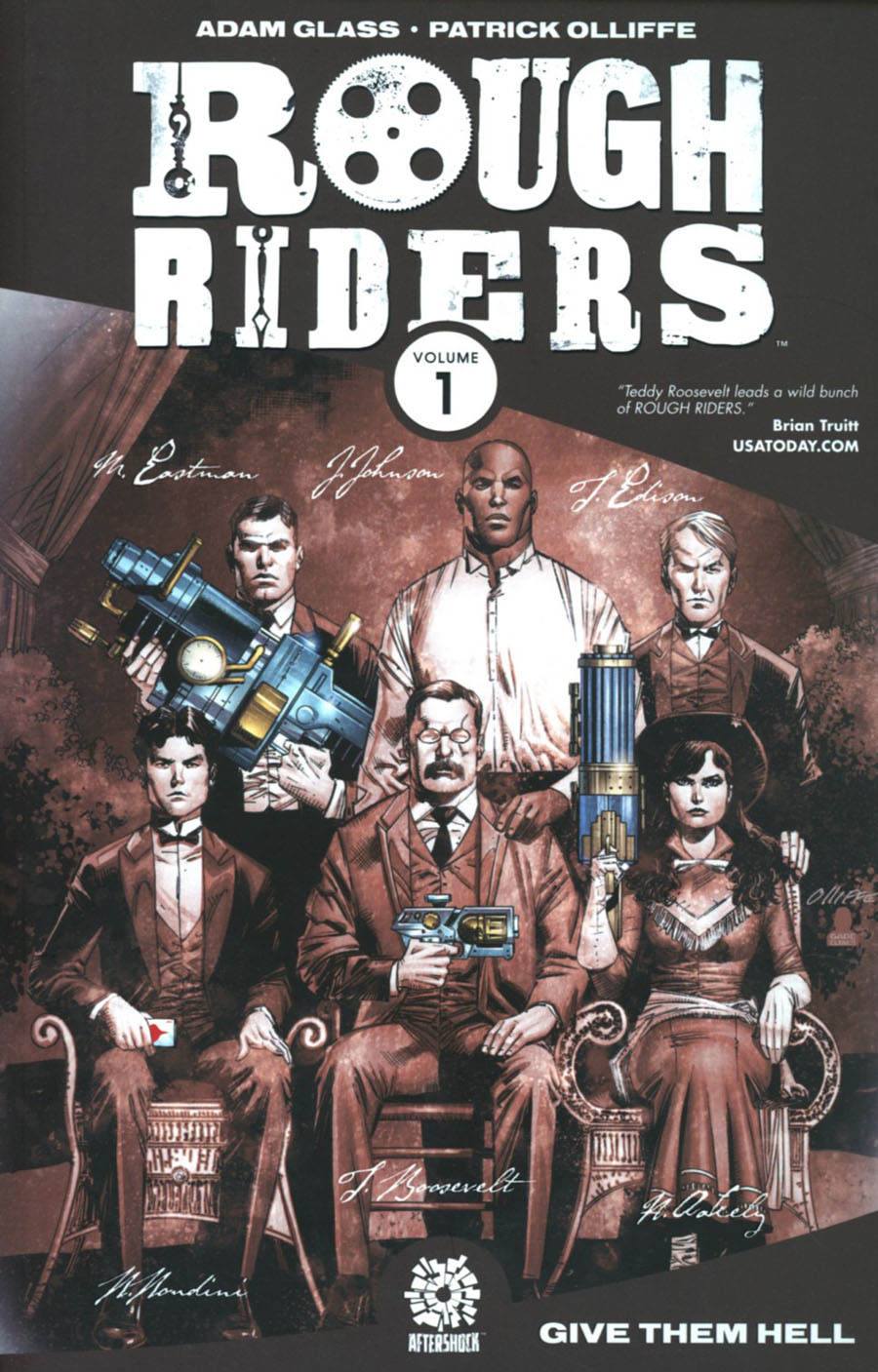 Rough Riders Vol 1 Give Them Hell TP