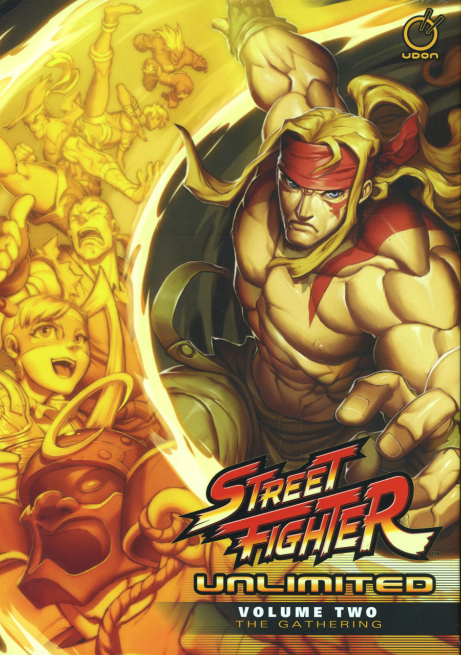 Street Fighter Unlimited Vol 2 The Gathering HC