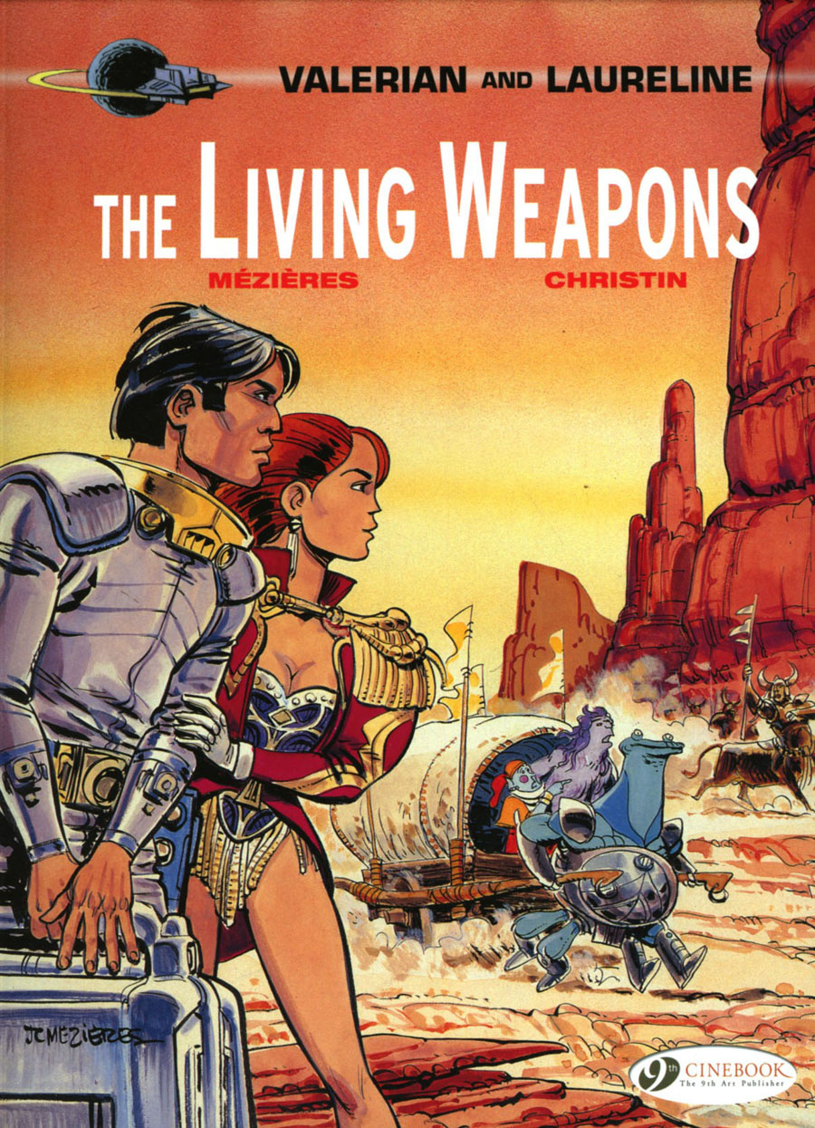 Valerian And Laureline Vol 14 Living Weapons GN