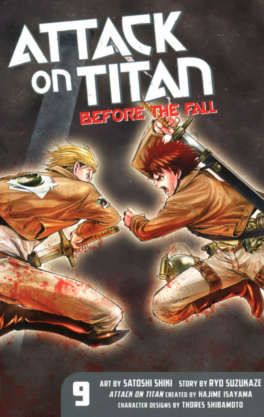Attack On Titan Before The Fall Vol 9 GN