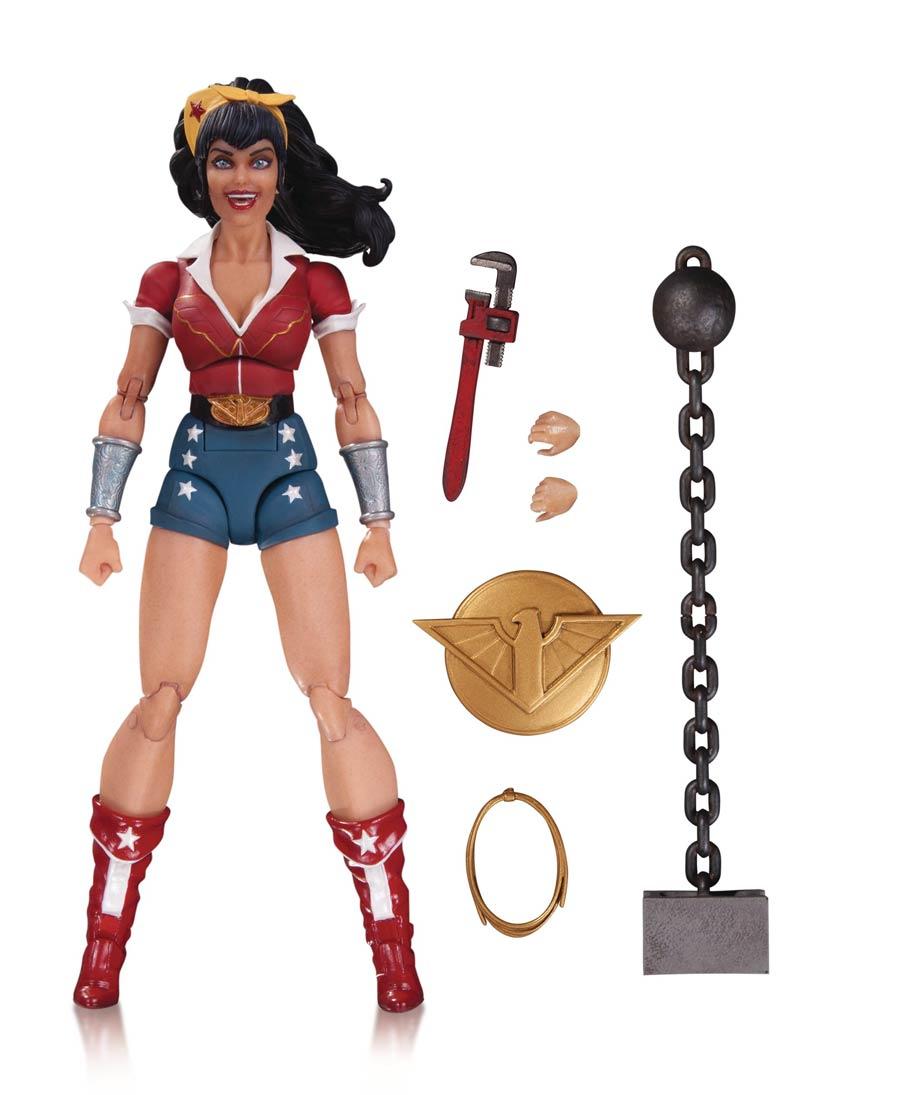 DC Comics Designer Ant Lucia Series 1 Wonder Woman Action Figure