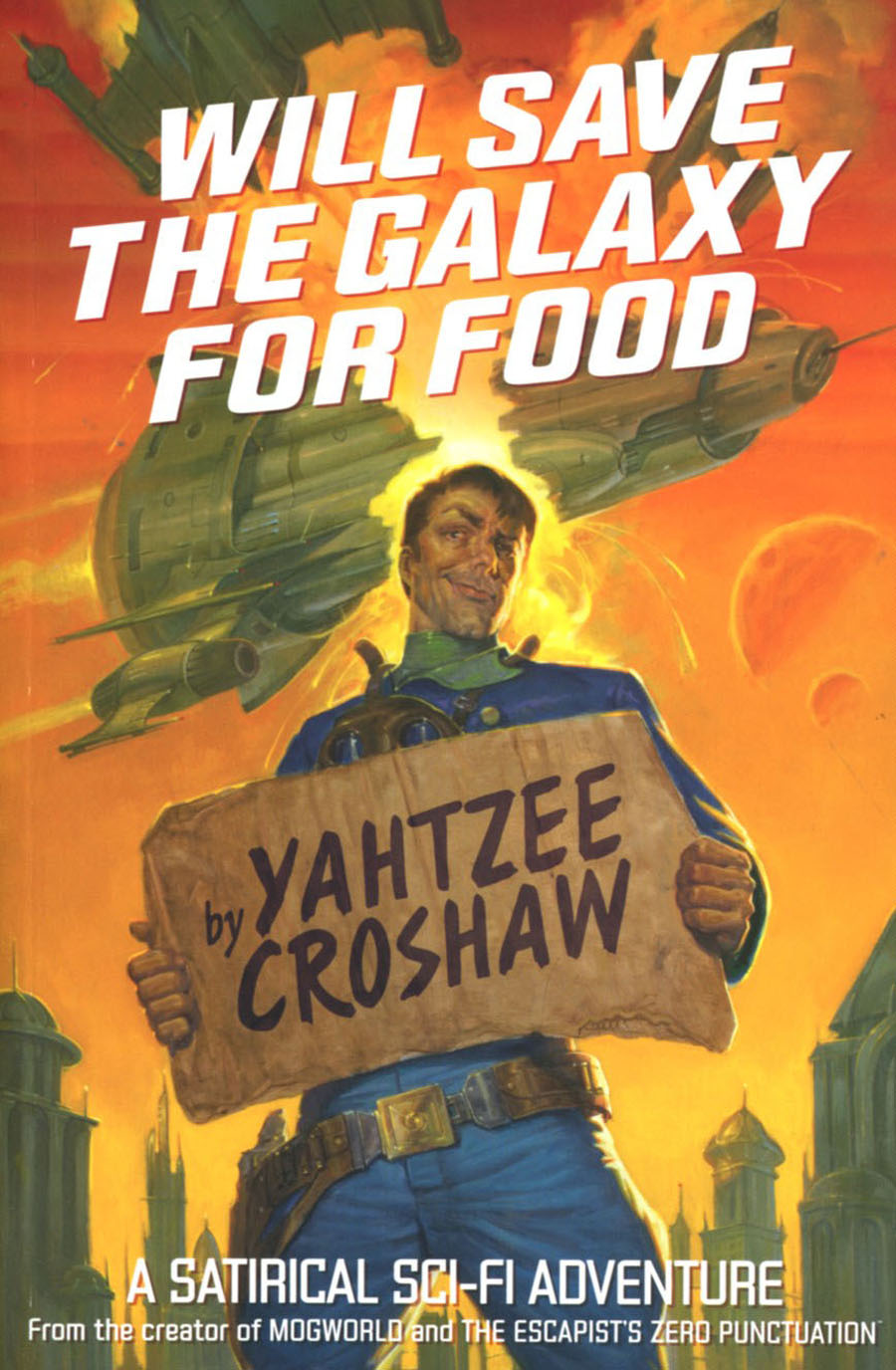 Will Save The Galaxy For Food Novel SC