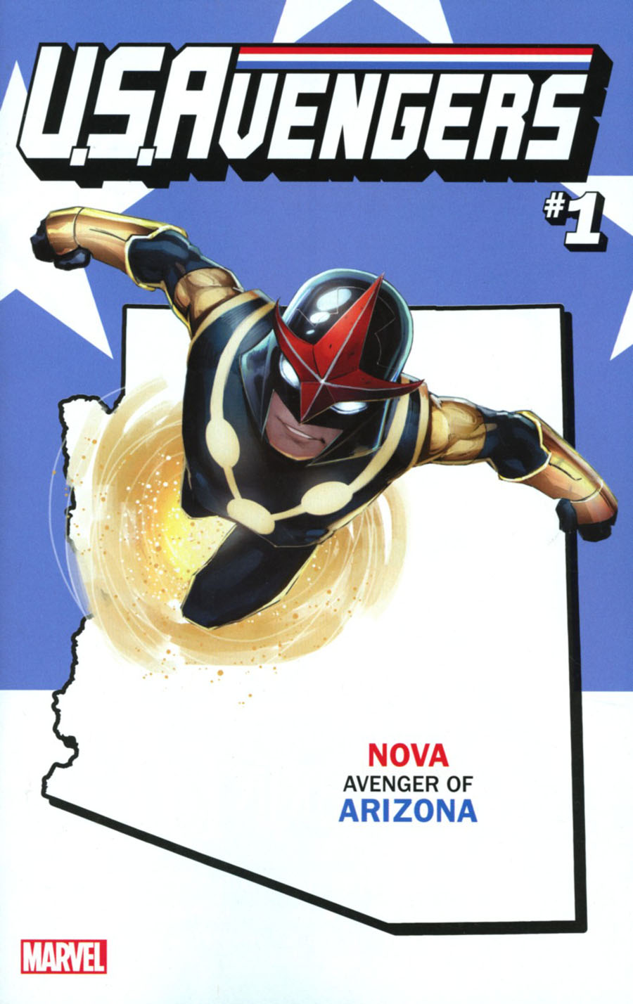 U.S.Avengers #1 Cover I Variant Rod Reis Arizona State Cover (Marvel Now Tie-In)