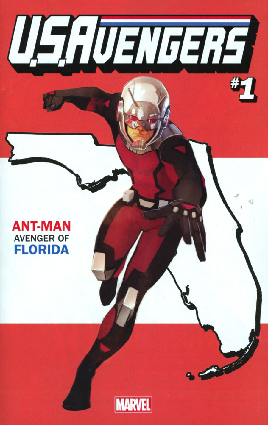 U.S.Avengers #1 Cover P Variant Rod Reis Florida State Cover (Marvel Now Tie-In)