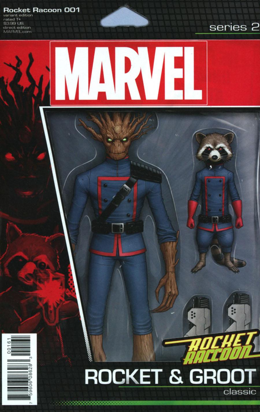 Rocket Raccoon Vol 3 #1 Cover D Variant John Tyler Christopher Action Figure Cover (Marvel Now Tie-In)