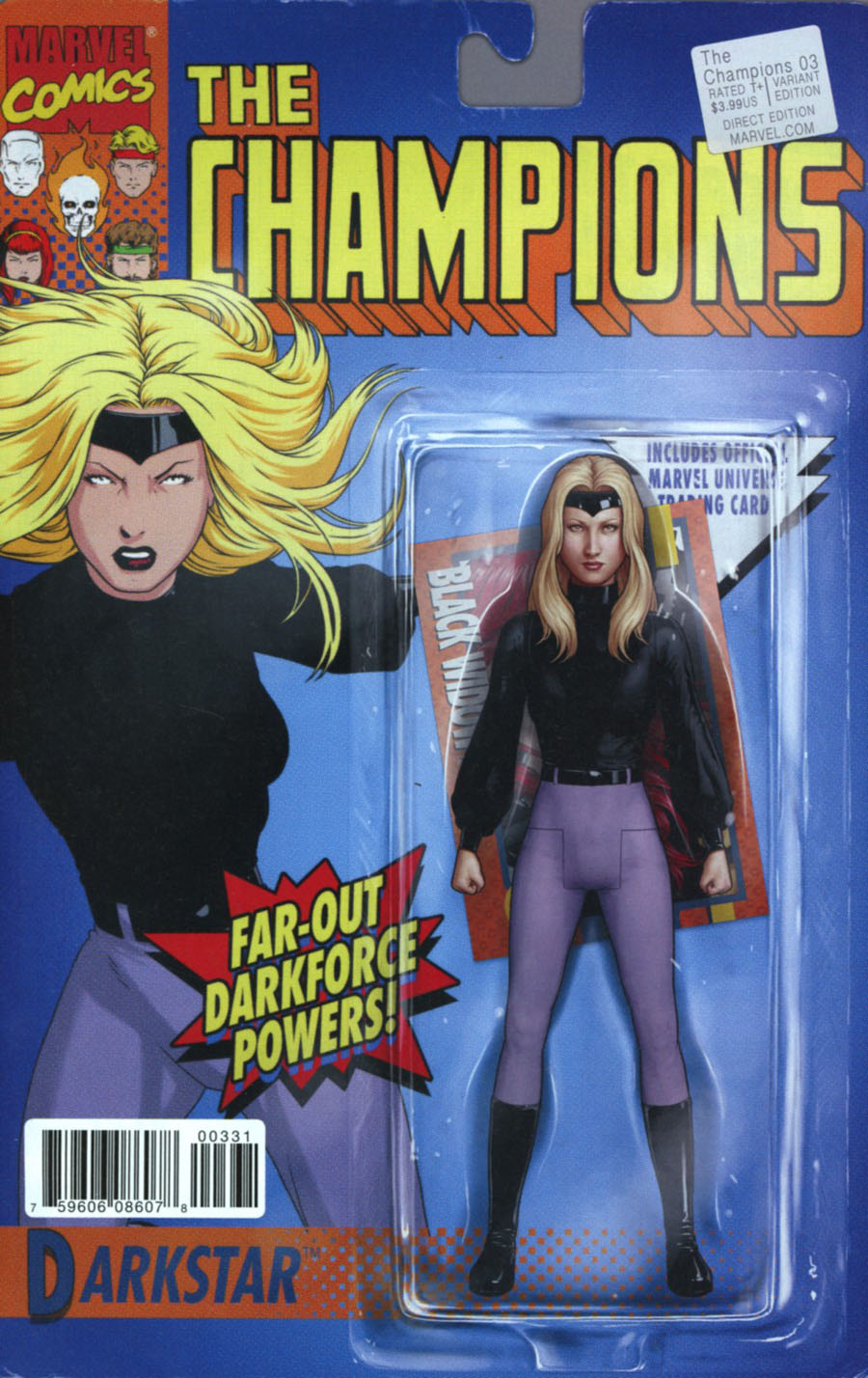 Champions (Marvel) Vol 2 #3 Cover C Variant John Tyler Christopher Classic Action Figure Cover