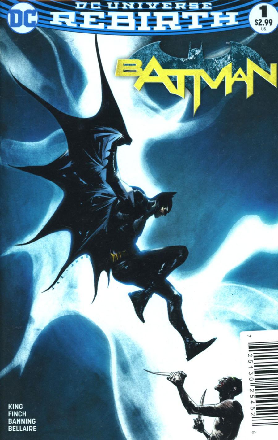 Batman Vol 3 #1 Cover P DF Exclusive Jae Lee Variant Cover Plus 2 Holiday Package