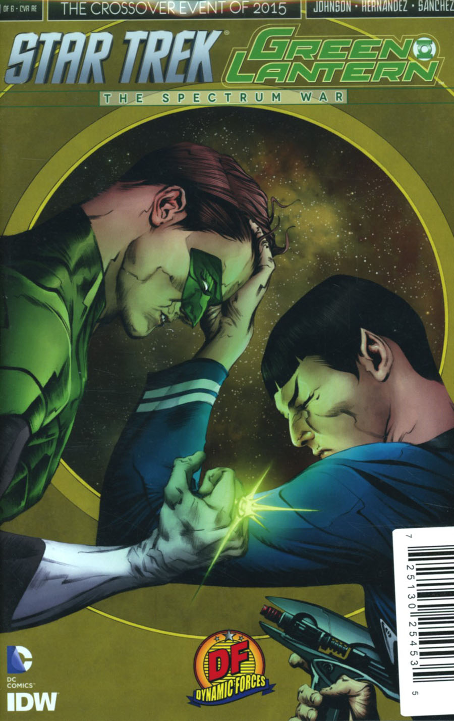 Star Trek Green Lantern #1 Cover R DF Exclusive Jae Lee Variant Cover Plus 2 Holiday Package