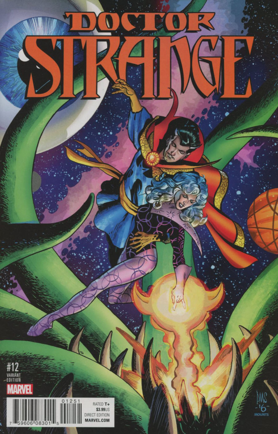 Doctor Strange Vol 4 #12 Cover E Incentive Classic Variant Cover (Marvel Now Tie-In)